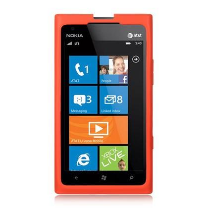 Nokia Ace / Lumia / 900 Luxmo Skin Case Red