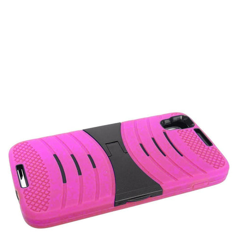 Alcatel Idol 4 - UCASE PC & Silicon w/ Kickstand - Hot Pink