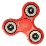 Glow in the Dark Fidget Spinner Toy Stress Reducer - Red