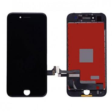 Replacement LCD & Digitizer Frame Assembly for iPhone 7 - Black - Lifetime Warranty