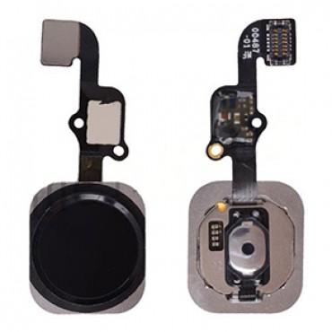 Home Button w/ Flex Cable Ribbon, Home Button Connector for Apple iPhone 6S / iPhone 6S Plus - Black