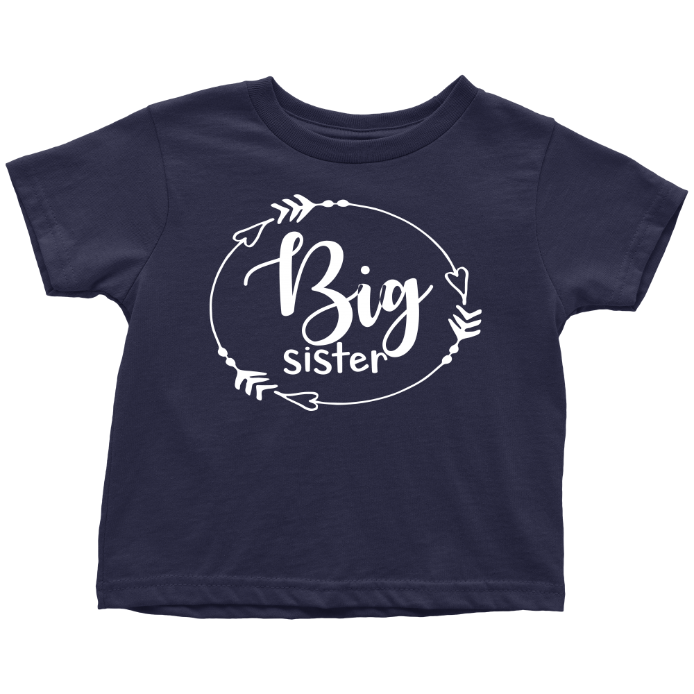 Big Sister T-Shirt - Navy