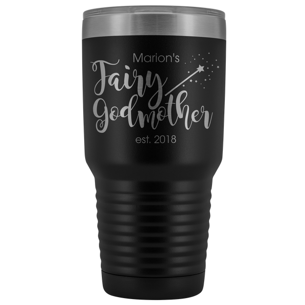 Custom Fairy Godmother 30 Ounce Vacuum Tumbler - Marion