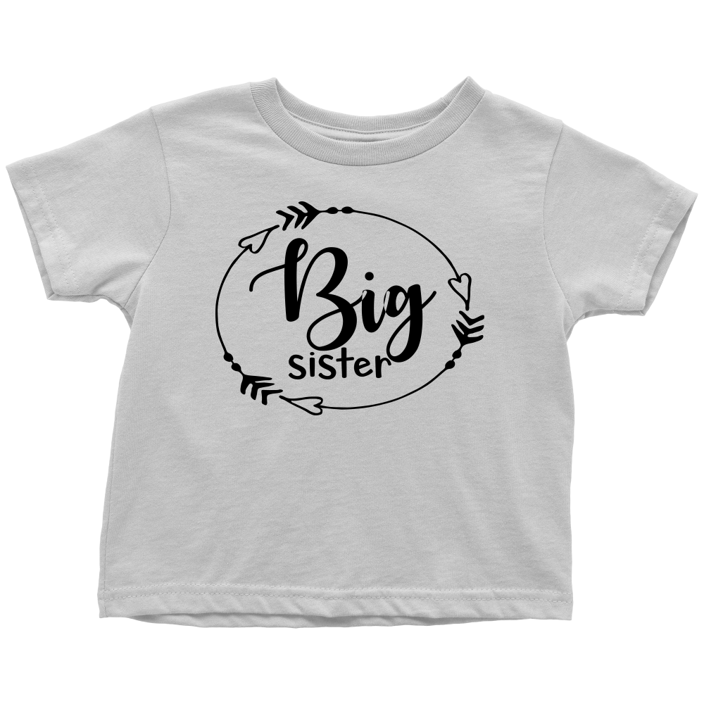 Big Sister T-Shirt - White