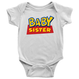 Baby Sister Toy Story Baby Onesie