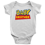 Baby Brother Toy Story Baby Onesie