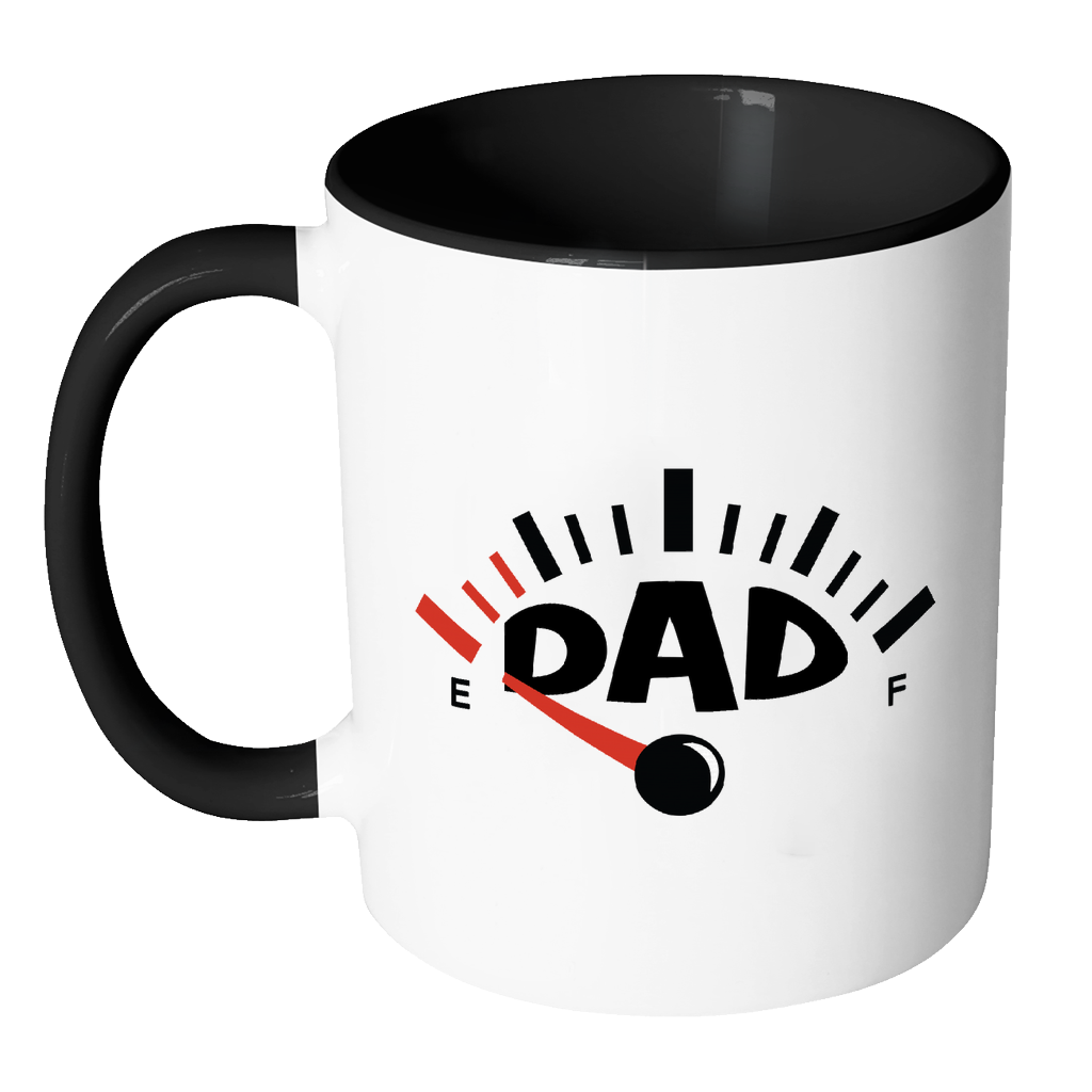 Running on Empty Fun Mug for Dad