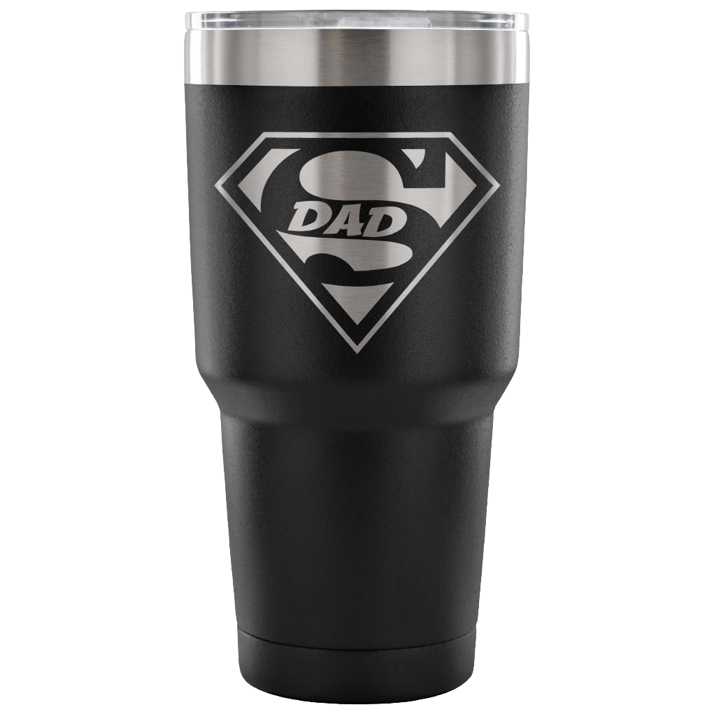 Superdad Tumbler - Black