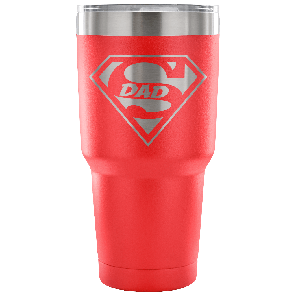 Superdad Tumbler - Red