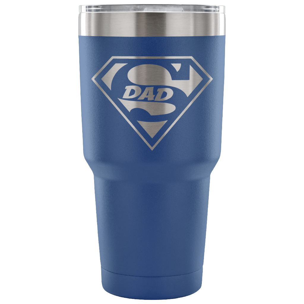 Superdad Tumbler - Blue