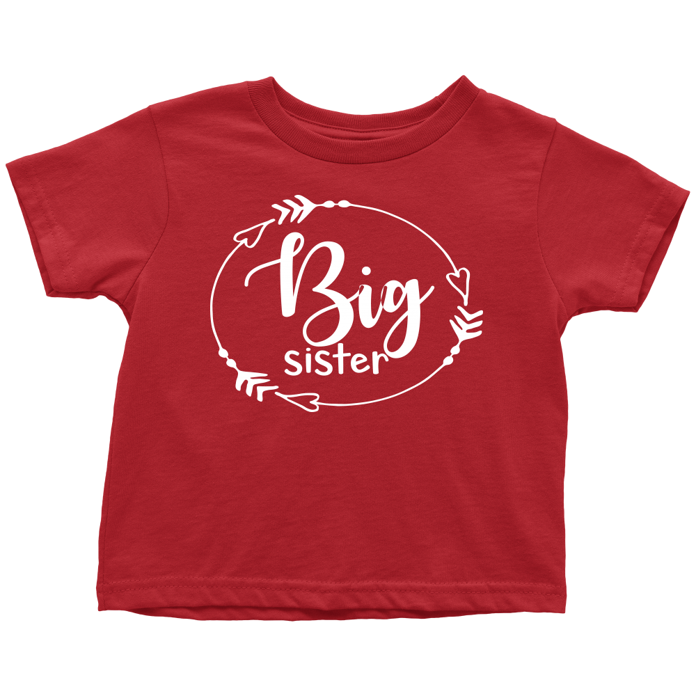 Big Sister T-Shirt - Red