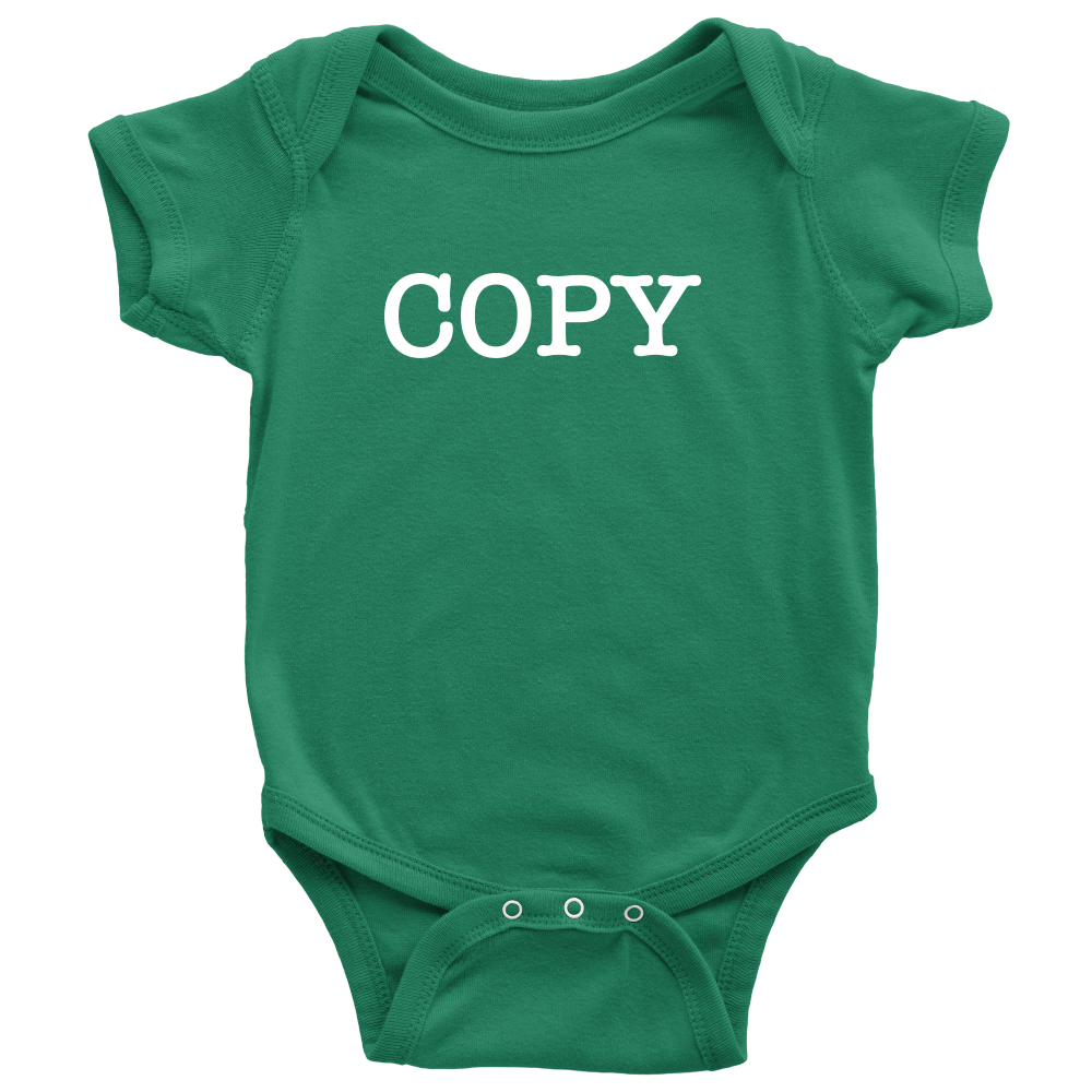 Copy - Fun Twins Onesie - Green