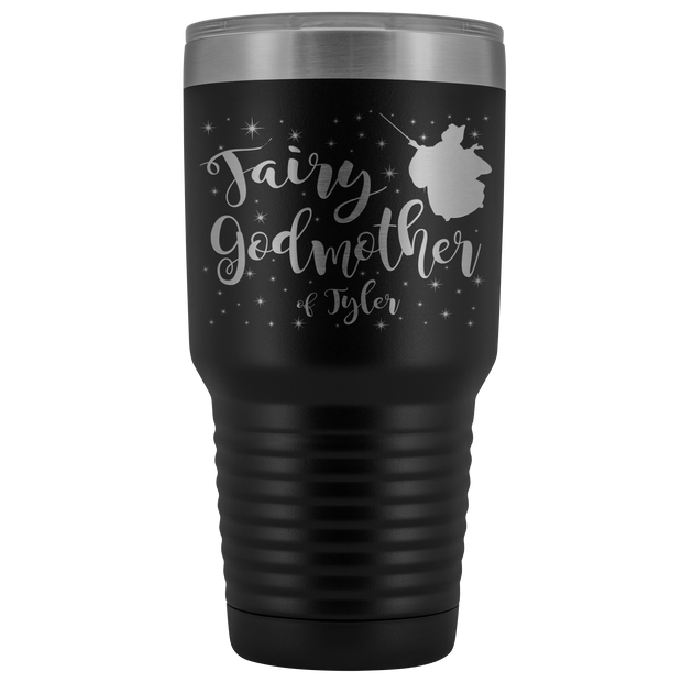 Custom Fairy Godmother 30oz Tumbler - Tyler