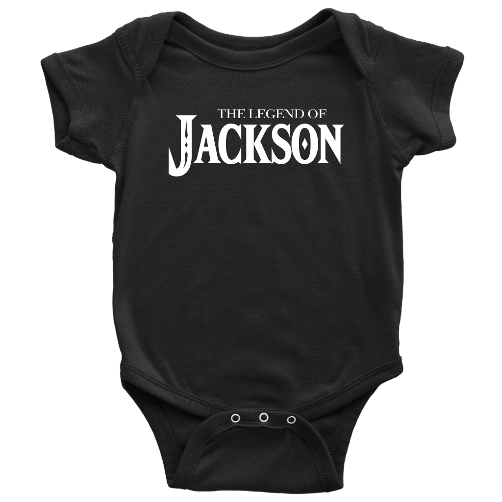 Custom Design - The Legend of Jackson