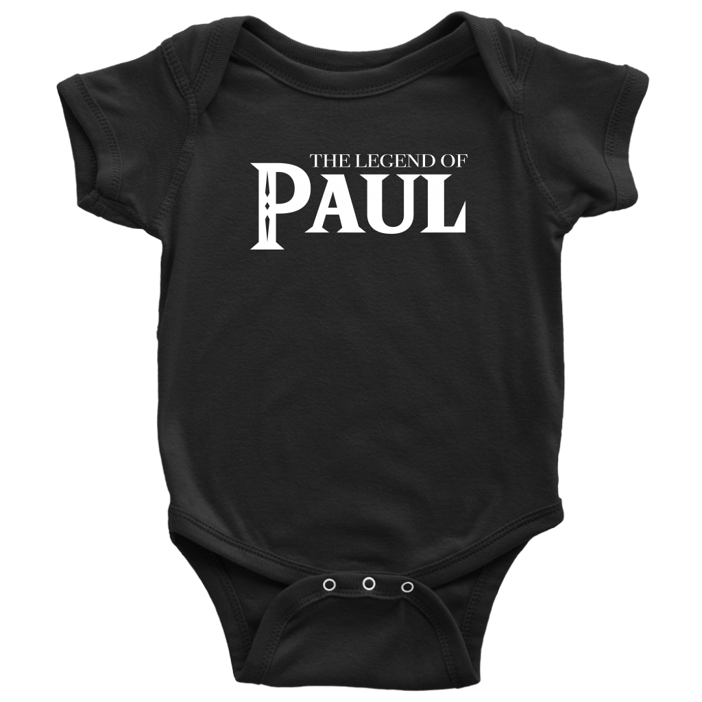 The Legend of Baby Paul Baby Bodysuit