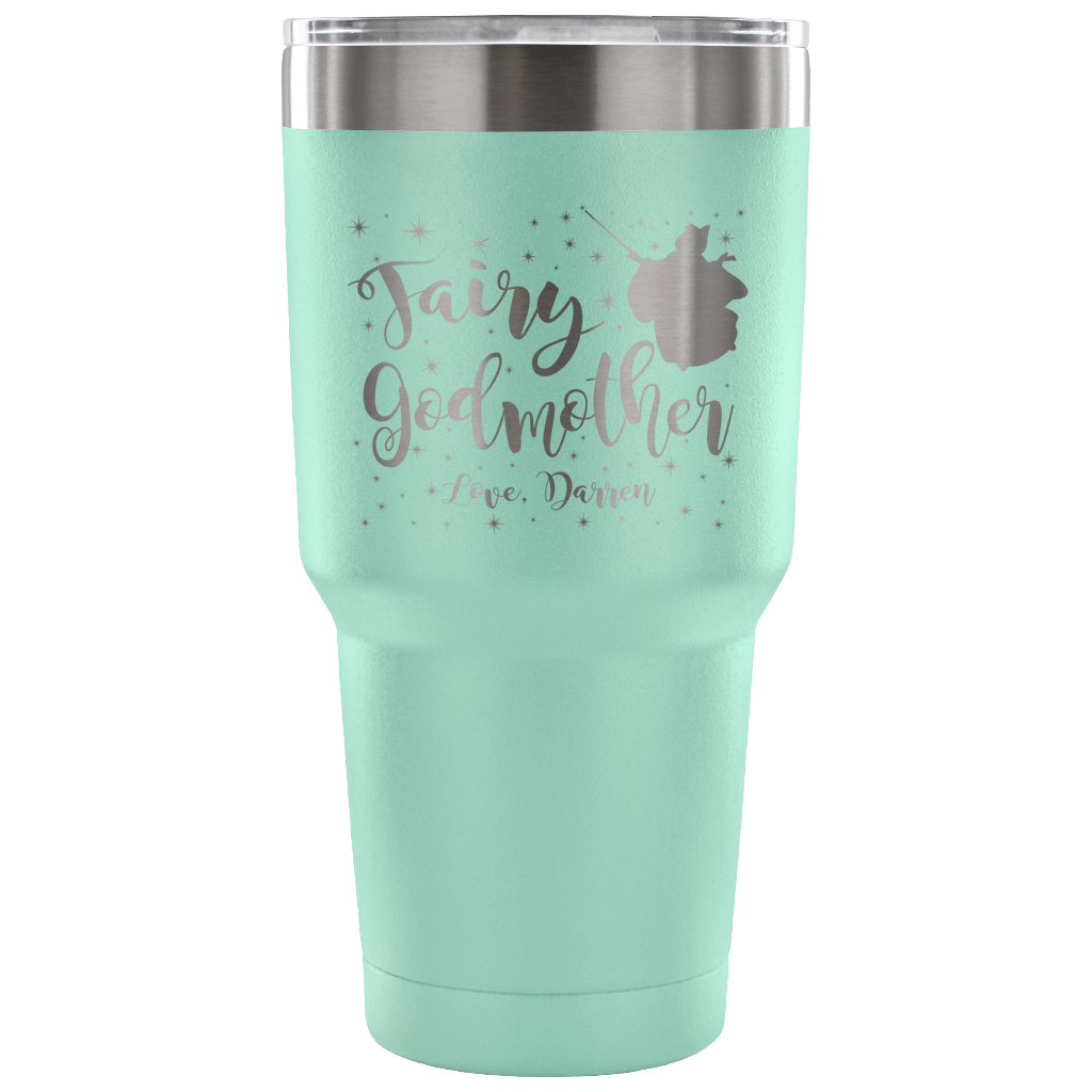 Custom Fairy Godmother 30 Ounce Vacuum Tumbler - Darren