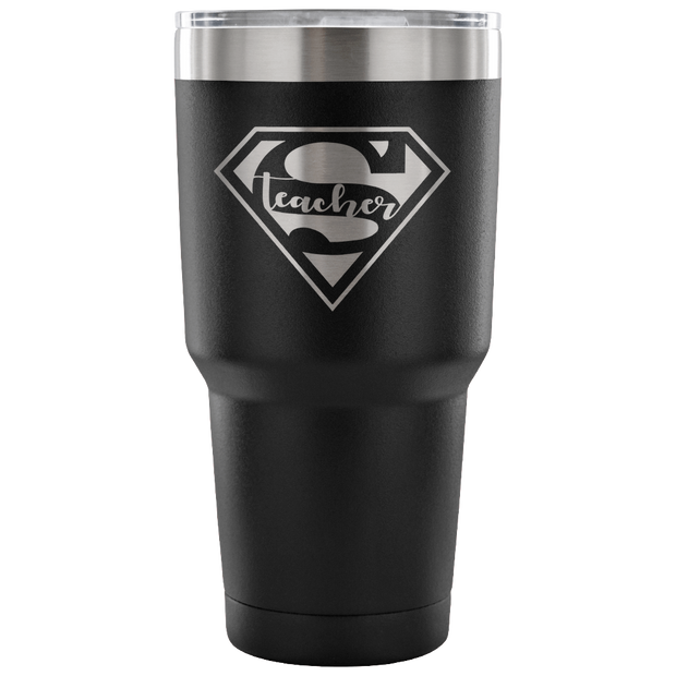 Super Teacher - 30 Ounce Vacuum Tumbler