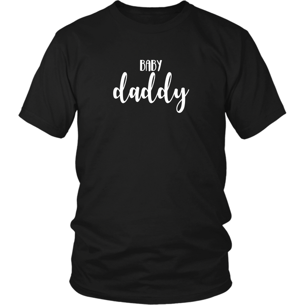 Baby Daddy - Fun Pregnancy Reveal Shirt for Dad