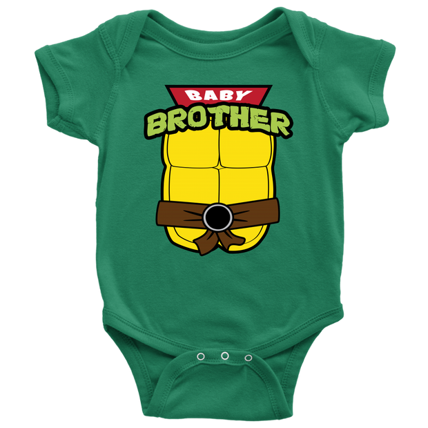 Baby Brother Ninja Turtle Onesie