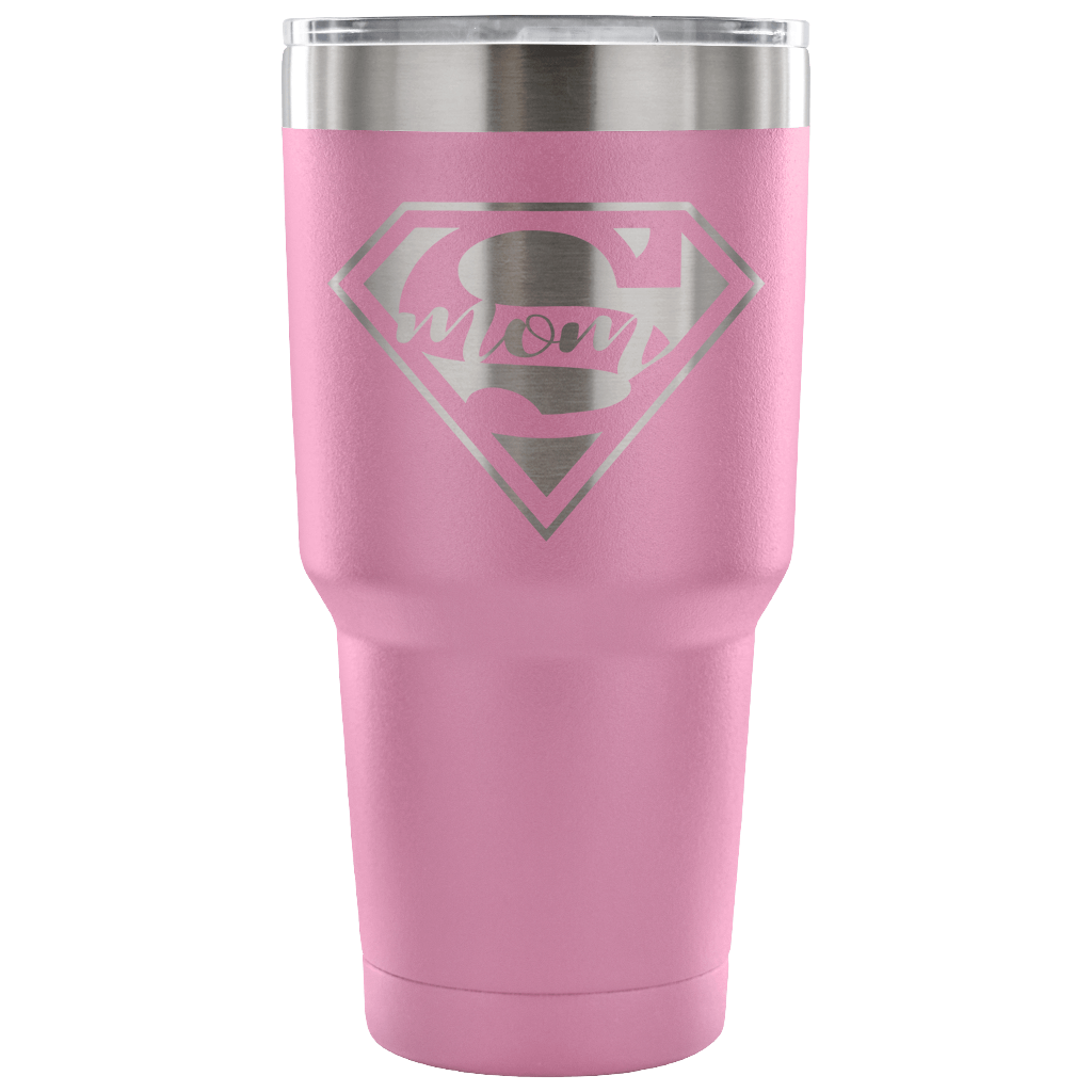 Supermom Tumbler - Light Purple