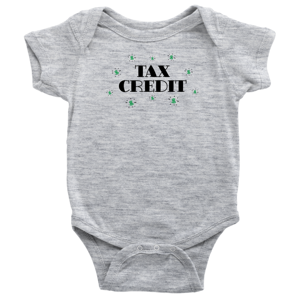 Tax Credit - Funny Baby Bodysuit