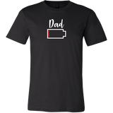 Dad - No Battery T-Shirt - Funny Family Matching Shirt