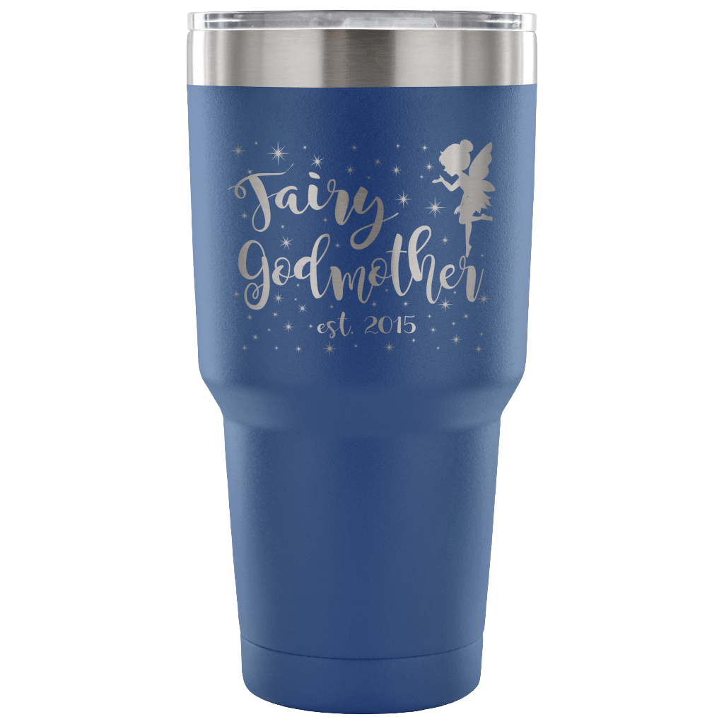 Custom Fairy Godmother 30oz Vacuum Tumbler - Est 2015