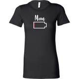 Mom - No Battery T-Shirt - Funny Family Matching Shirt