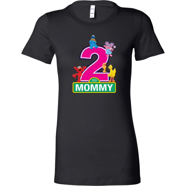 Custom Sesame Shirt - Mommy