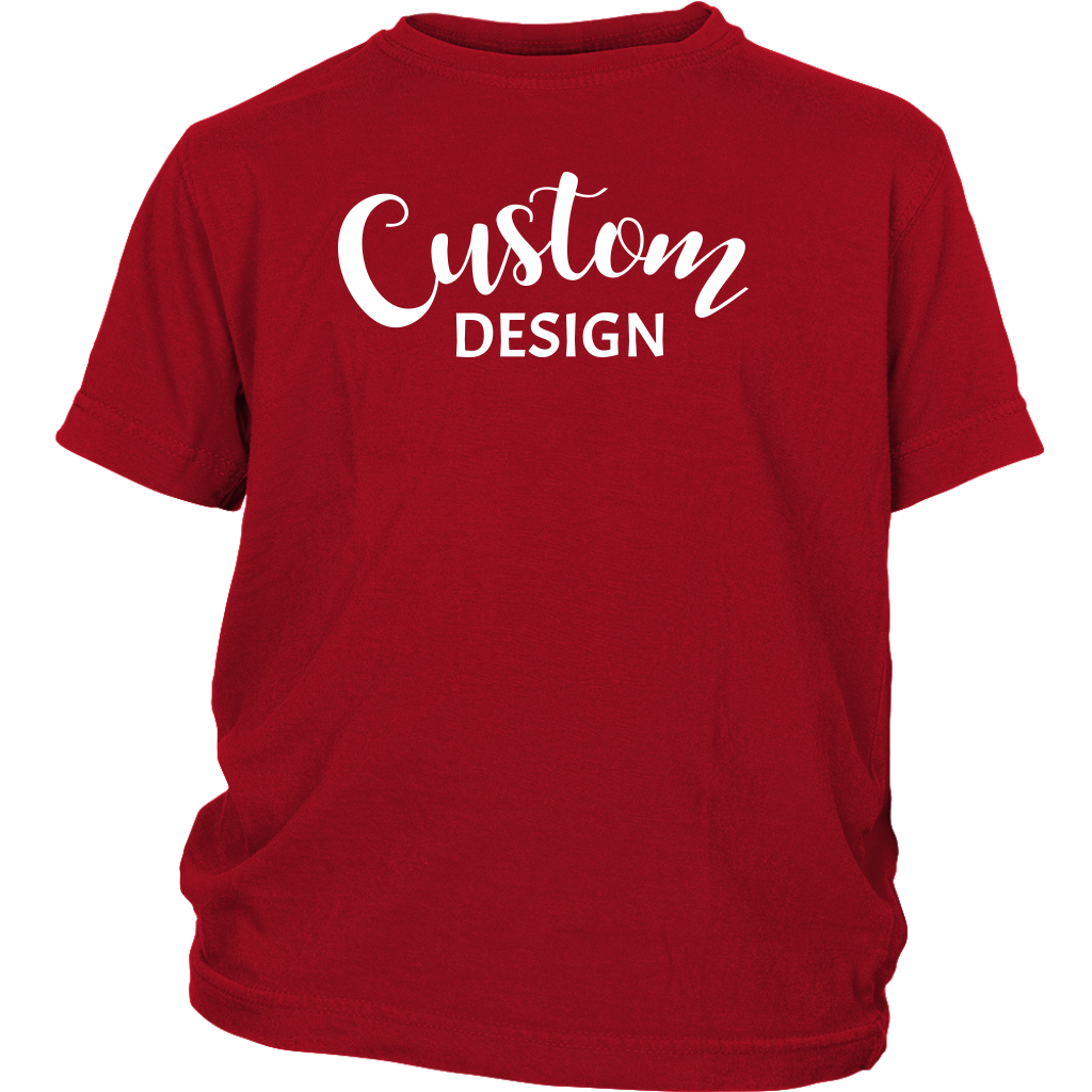 Custom Youth Shirt - Red