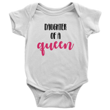 Daughter of a Queen Onesie