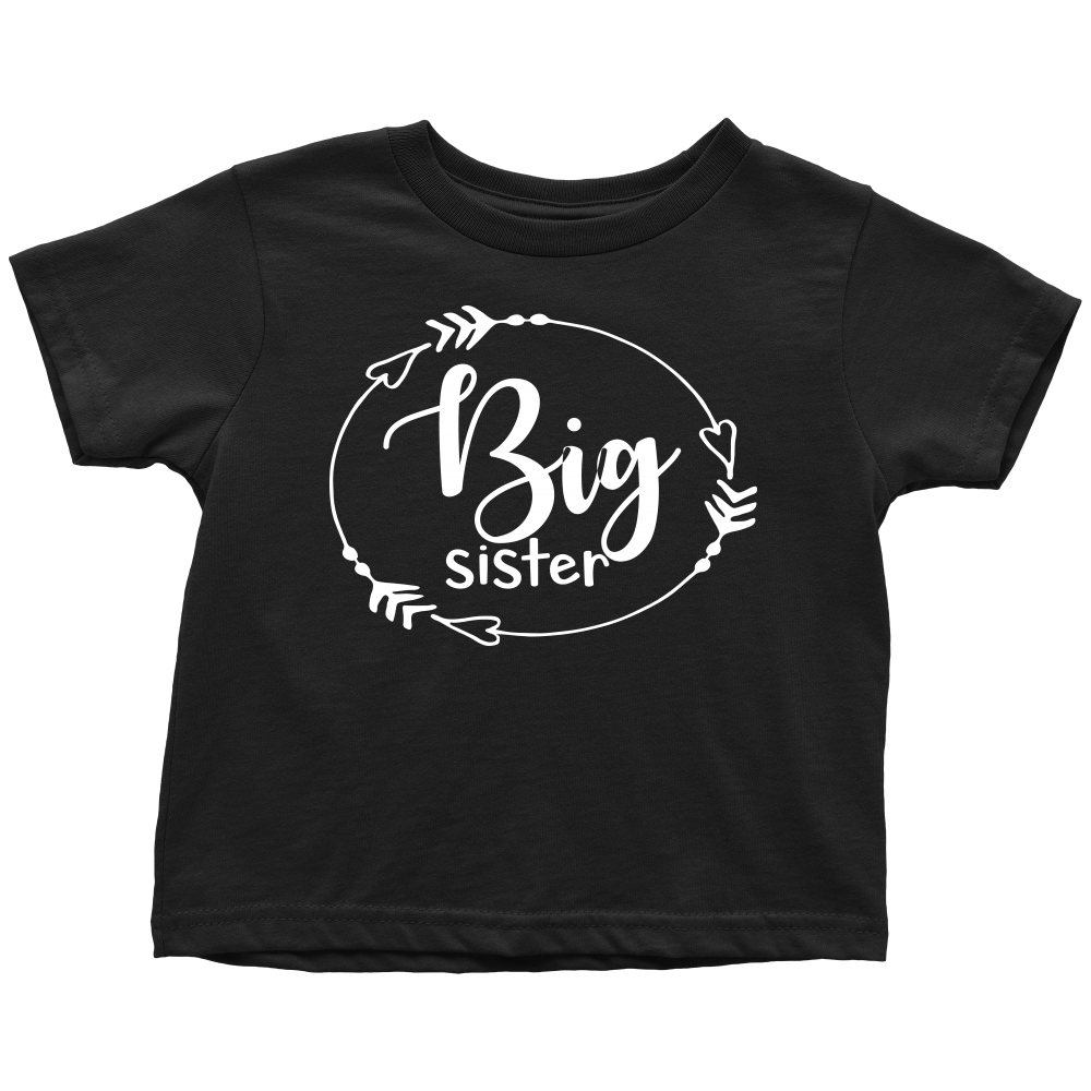 Big Sister T-Shirt - Black