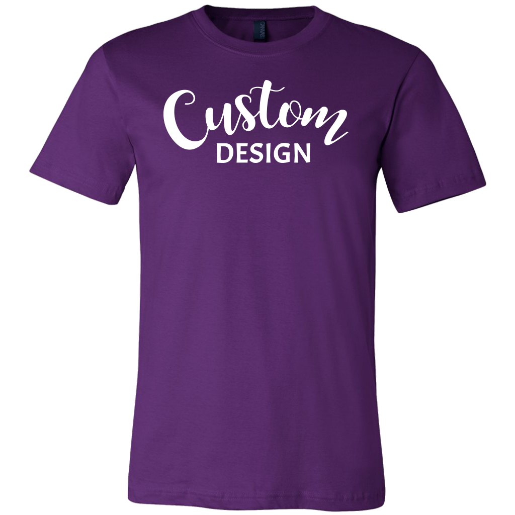 Custom Mens Shirt - Purple
