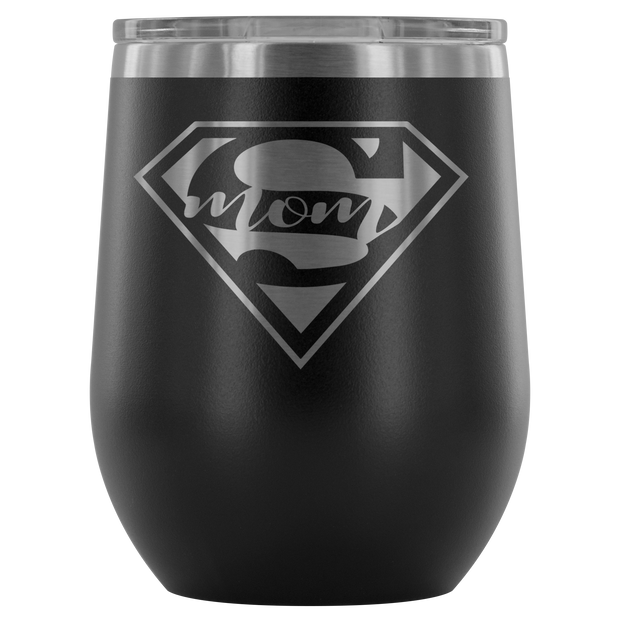 Supermom - 12oz Tumbler - Black