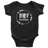 Baby Brother Onesie - Black