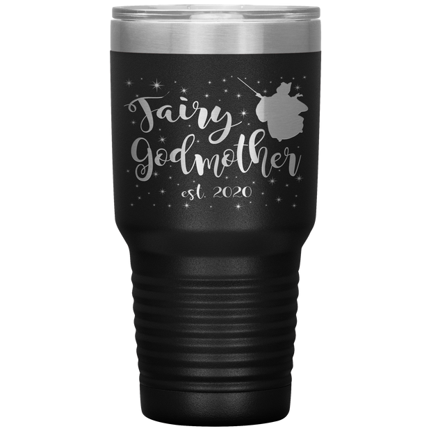 Fairy Godmother 30 Ounce Vacuum Tumbler - Est 2020
