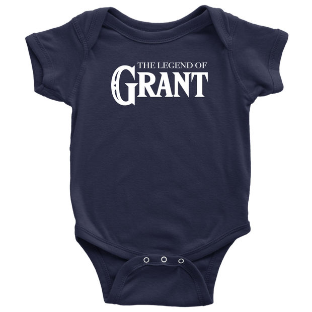 The Legend of Baby Grant Baby Bodysuit