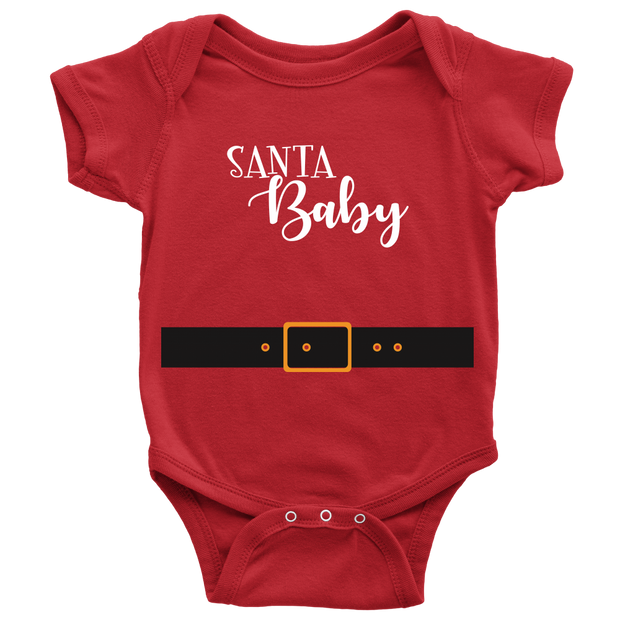 Santa Baby Holiday Onesie