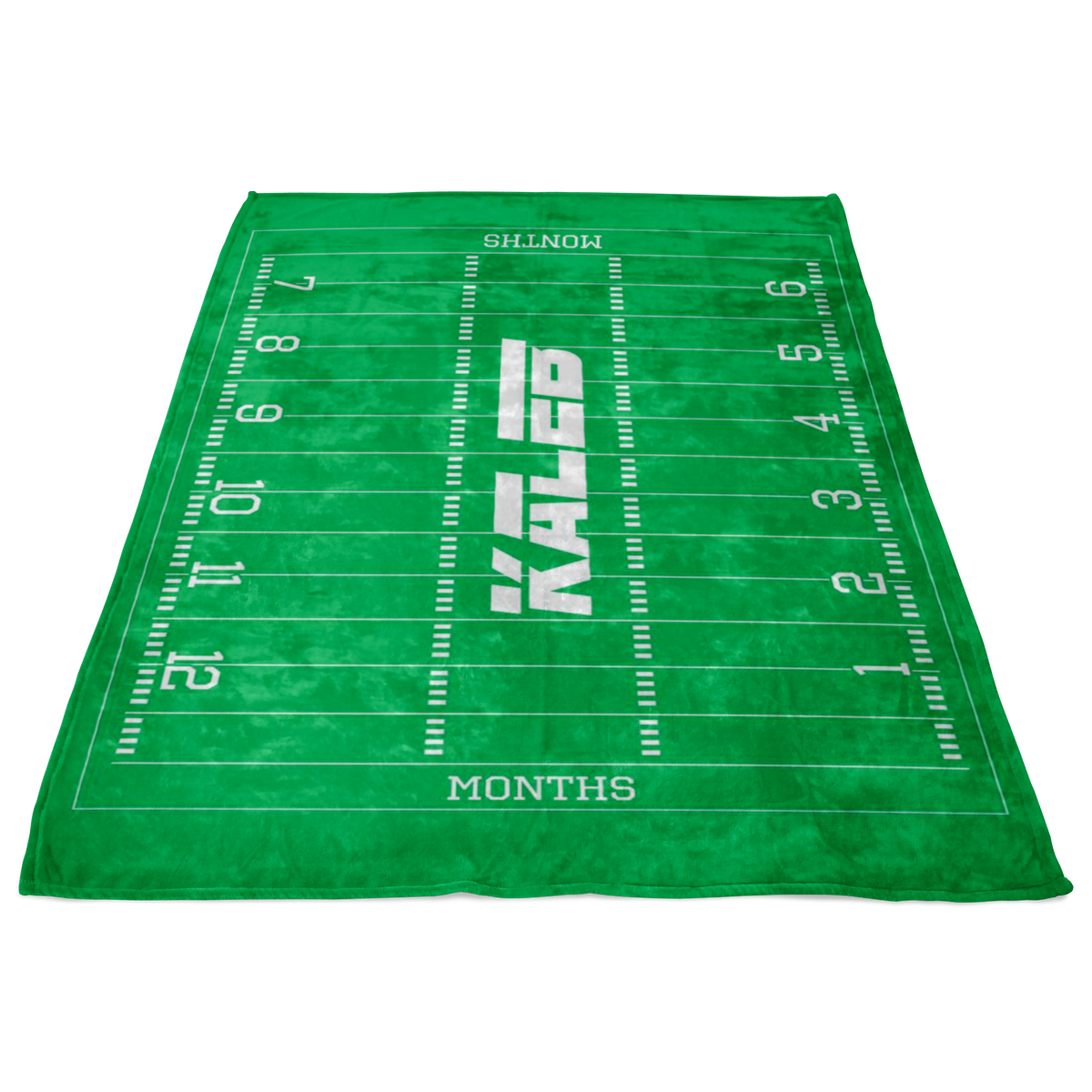 Custom Football Blanket - Kaleb