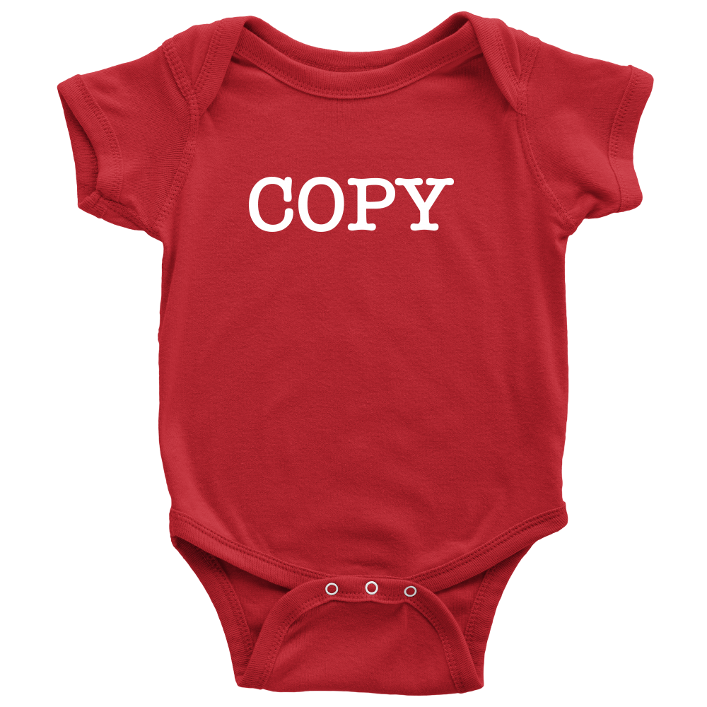 Copy - Fun Twins Onesie - Red