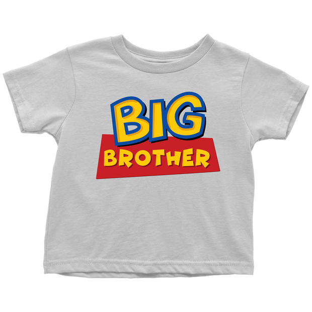 Big Brother - Toy Story Inspired Toddler T-Shirt - White