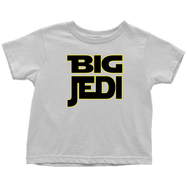 Big Jedi - Big Sibling Matching T-Shirt - White