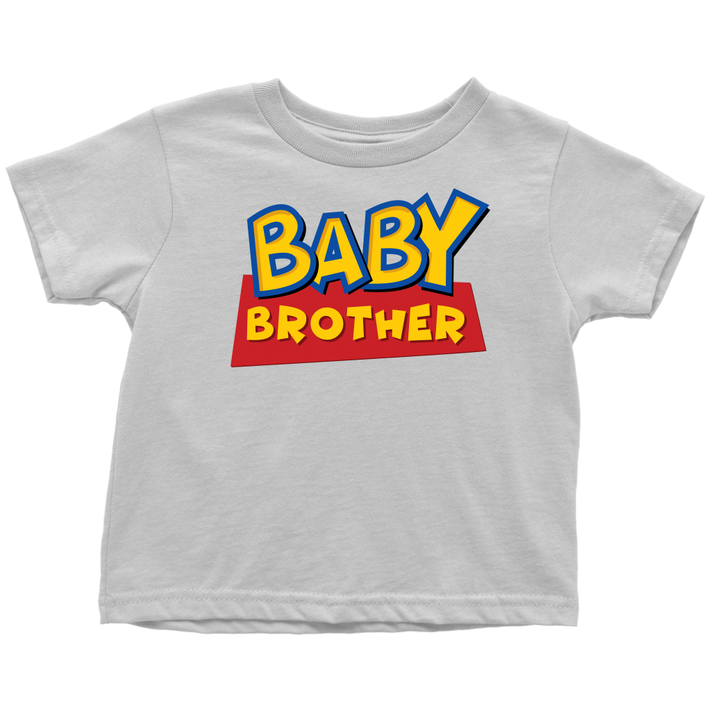 Baby Brother - Toy Story Inspired Toddler T-Shirt