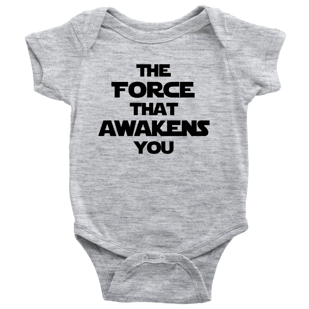 The Force That Awakens You - Baby Bodysuit