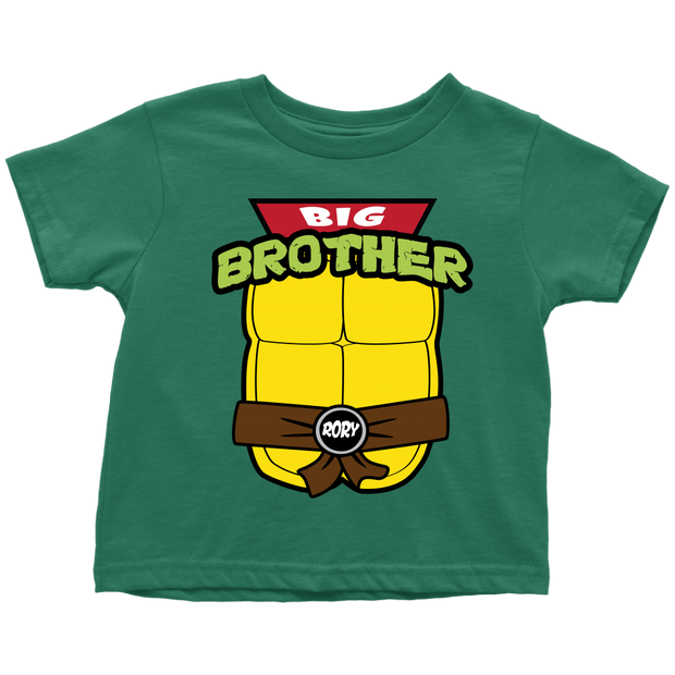 Custom Ninja Turtle Big Brother Shirt - Rory