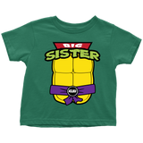 Big Sister Ninja Turtle T-Shirt