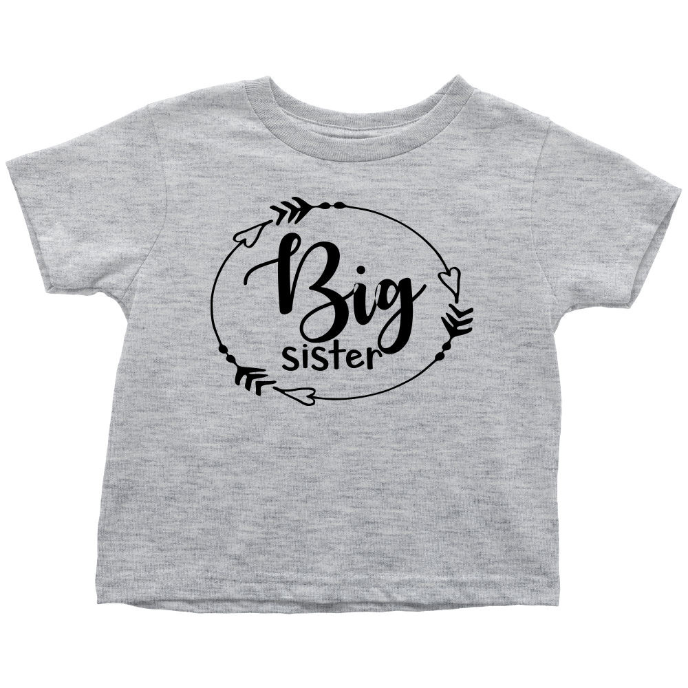 Big Sister T-Shirt - Gray