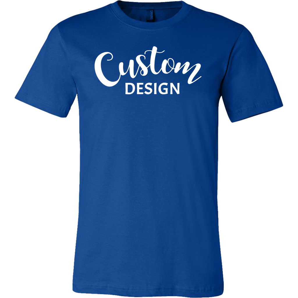 Custom Mens Shirt - Blue