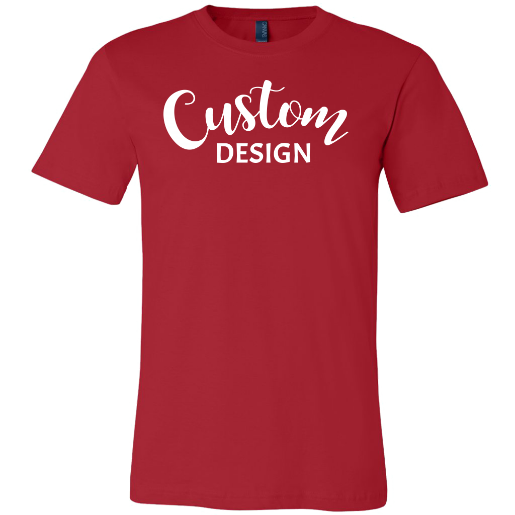 Custom Mens Shirt - Red