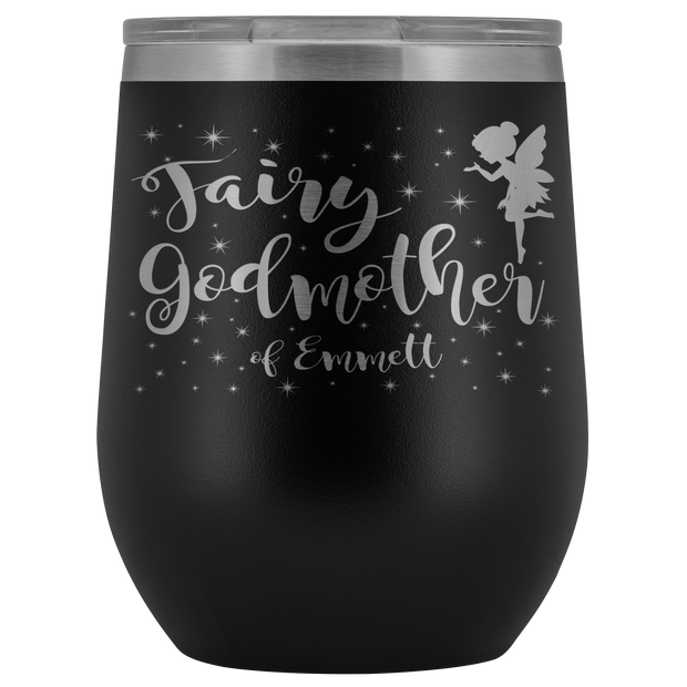 Custom Fairy Godmother 12oz Tumbler - Emmett
